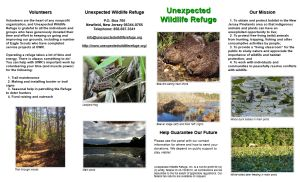 Side 1 of new Refuge leaflet