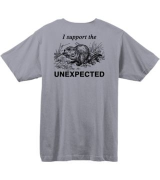 Unexpected Wildlife Refuge T-shirt