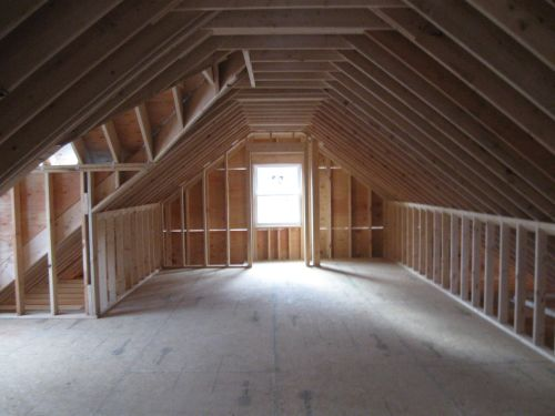 Attic and living space, photo by Dave Sauder